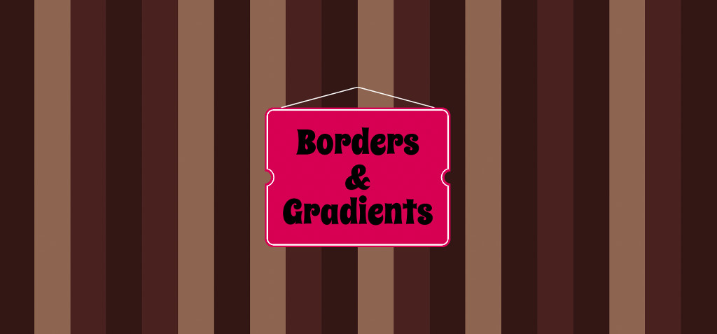 Borders and Gradients - post preview